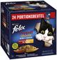 FELIX Katzen-Nassfutter »So gut wie es aussieht Doppelt Lecker«, gemischte Vielfalt-Thumbnail