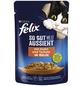 FELIX Katzen Nassfutter »So gut wie es aussieht «, Huhn / Tomate, 24x85 g-Thumbnail