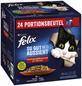 FELIX Katzen-Nassfutter »So gut wie es aussieht«, Rind/Kaninchen/Lamm/Huhn-Thumbnail