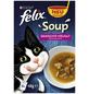 FELIX Katzen Nassfutter »Soup - Gemischte Vielfalt«, 8 Packungen à 2304 g-Thumbnail