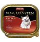 animondo Katzen Nassfutter »Vom Feinsten«, Rind, 32x100 g-Thumbnail