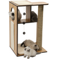 Katzenmöbel »V-box«, walnussfarben-Thumbnail