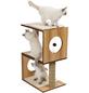 Katzenmöbel »V-stool«, walnussfarben-Thumbnail