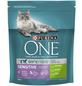 Purina ONE® Katzentrockenfutter »Sensitive«, Truthahn, 0,8 kg-Thumbnail