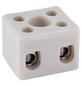 Keramikklemme, Keramik, Weiß, 2x 2,5 - 4 mm²-Thumbnail