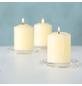 Kerzenhalter, Glas, transparent-Thumbnail