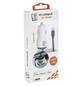 2GO Kfz-Ladegerät, Weiß | Schwarz, USB-Buchse, Lightning-Stecker-Thumbnail