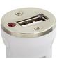 2GO Kfz-Ladegerät, Weiß, USB-Buchse, Lightning-Stecker-Thumbnail