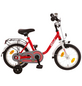BACHTENKIRCH Kinderfahrrad »Bibi«, 1 Gang, U-Type Rahmen, Rot-Weiß-Thumbnail
