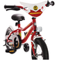 BACHTENKIRCH Kinderfahrrad »Feuerwehr«, 18 Zoll-Thumbnail