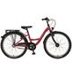 PROPHETE Kinderfahrrad »PROPHETE Kids Bike «, 3 Gänge, Nabenschaltung, Wave-Type Rahmen, Himbeerrot-Thumbnail