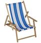 SUNGÖRL Kinderliegestuhl, Höhe: 51 cm, Polyester/ Holz-Thumbnail