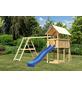 AKUBI Kinderspielanlage »Danny« mit Rutsche, Schaukel, Kletterwand-Thumbnail
