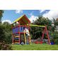 AKUBI Kinderspielanlage »Danny« mit Schaukel, Kletterwand-Thumbnail