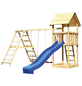 AKUBI Kinderspielanlage »Lotti« mit Rutsche, Schaukel, Kletterwand-Thumbnail