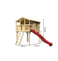 AKUBI Kinderspielanlage Stelzenhaus  »Benjamin« mit Rutsche-Thumbnail