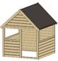 WEKA Kinderspielartikel, BxHxT: 130 x 153,5 x 131 cm, Holz, natur-Thumbnail