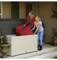LIFETIME Kissenbox, BxHxT: 128 x 67 x 64 cm, lichtgrau-Thumbnail