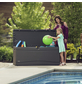 LIFETIME Kissenbox, BxHxT: 153 x 66 x 61 cm, carbongrau-Thumbnail