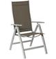 Klappstuhl »Carrara«, BxTxH: 60 x 70 x 108 cm, Aluminium/ Textil-Thumbnail