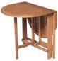 Klapptisch, BxHxL: 60 x 74 x 120 cm, Tischplatte: Eukalyptusholz-Thumbnail