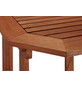 Klapptisch, mit Eukalyptusholz-Tischplatte, BxTxH: 51 x 90 x 74 cm-Thumbnail