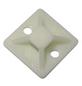 Schneider Electric Klebesockel, Kabelbinder mit maximal 3,6 mm, Kunststoff, weiß-Thumbnail