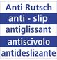 WENKO Kleiderbügel, BxHxL: 45 x 23,5 x 0,4 cm, Kunststoff (ABS), grau-Thumbnail