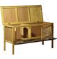 Kleintierstall, BxHxT: 115 x 66 x 45 cm, braun-Thumbnail