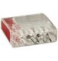 BESTEST Klemme, Compact, Kunststoff, Rot, Kabel von 0,5 bis 2,5 mm²-Thumbnail