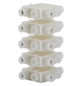 BESTEST Klemme, Kunststoff/Metall, Weiß, Kabel mit 2,5 mm² Querschnitt-Thumbnail