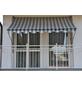 Klemmmarkise, BxT: 150x150 cm, grau/weiss gestreift-Thumbnail