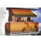 Klemmmarkise, BxT: 200x150 cm, braun/orange gestreift-Thumbnail