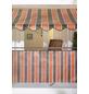 Klemmmarkise, BxT: 250x150 cm, braun/orange gestreift-Thumbnail