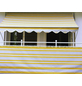 Klemmmarkise, BxT: 250x150 cm, grau/weiss/gelb gestreift-Thumbnail