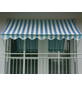 Klemmmarkise, BxT: 250x150 cm, weiss/blau gestreift-Thumbnail