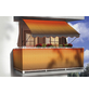 Klemmmarkise, BxT: 300x150 cm, braun/orange gestreift-Thumbnail