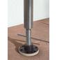 Klemmmarkise, BxT: 350x150 cm, braun gestreift-Thumbnail