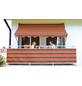 Klemmmarkise, BxT: 350x150 cm, braun/orange gestreift-Thumbnail
