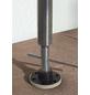 Klemmmarkise, BxT: 350x150 cm, grau/weiss/gelb gestreift-Thumbnail