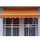Klemmmarkise, BxT: 350x150 cm, orange-Thumbnail