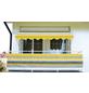 Klemmmarkise, BxT: 400x150 cm, gelb gestreift-Thumbnail