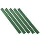 FLORAWORLD Klemmprofil »classic«, 25 Stück, Polyvinylchlorid (PVC), dunkelgrün-Thumbnail