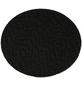 HOLZMANN Klettaufnahme, STK75AUF, Schwarz, 126 mm Durchmesser-Thumbnail