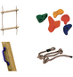 AKUBI Kletter-Set, BxL: 100 x 100 cm, bunt-Thumbnail