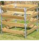 BELLISSA Komposter, BxHxL: 90 x 90 x 90 cm, holz stahl-Thumbnail
