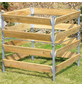 BELLISSA Komposter, BxHxL: 90 x 90 x 90 cm, Stahl/Holz-Thumbnail
