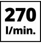 EINHELL Kompressor »TE-AC 270/50/10«, 10 bar, Max. Füllleistung: 140 l/min-Thumbnail