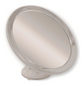 KRISTALLFORM Kosmetikspiegel, rund, Ø 17,3 cm, grau-Thumbnail