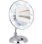 WENKO Kosmetikspiegel »Style«, beleuchtet, rund, BxH: 17,5 x 28 cm-Thumbnail